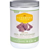 Sunshine Protein Meal Replacement  Plant Based  Chocolate  1.19 Lb