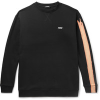 Raf Simons - Oversized Printed Loopback Cotton-Jersey Sweatshirt