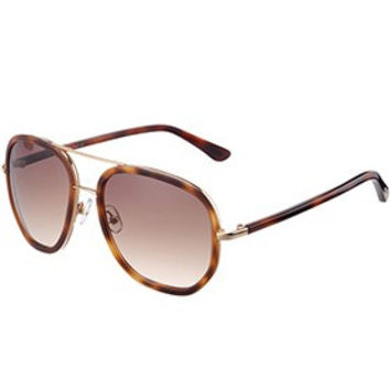 Tom Ford Cyrille Aviator Brown Frame Sunglasses 307899