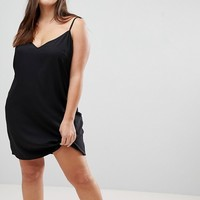 ASOS CURVE Mini Cami Slip Dress at asos.com