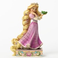 "Disney Traditions by Jim Shore Rapunzel and Pascal Figurine ""Loyalty and Love"" (4037514)"