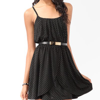 Studded Tulip Skater Dress