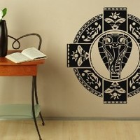 Wall Decals Tribal Snake Sign Decal Vinyl Sticker Home Decor Bedroom Decor Window Decals Living Room Art Murals Chu1433