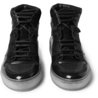 Balenciaga - Panelled High Top Sneakers | MR PORTER
