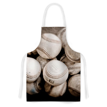 "Debbra Obertanec ""On the Mound"" Baseball Artistic Apron"