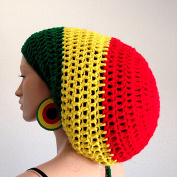 Easy Crochet Rasta Hat Pattern : Best Bob Marley Hat Products on Wanelo