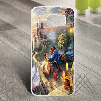 Disney Beauty The Beast Art Design Custom case for Samsung Galaxy