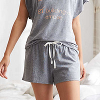 Aerie Softest Sleep® Boxer, Dark Heather