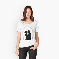 'The Lovers' Women's Relaxed Fit T-Shirt by epoliveira