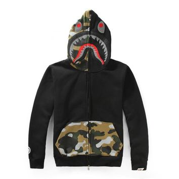 Men's Fashion Winter Camouflage Hoodies Hats Casual Jacket [429894696996]