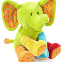 First Impressions Baby Toy, Baby Girls or Baby Boys Bright Plush Elephant