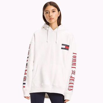 Tommy Hilfiger Women Men Hot Hoodie Cute Sweater-9