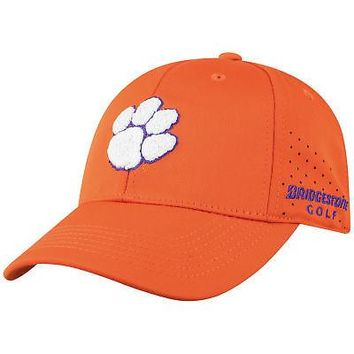 Licensed Clemson Tigers NCAA One Fit Jock 2 Hat Cap Mesh Curved Bill Top of the World KO_19_1