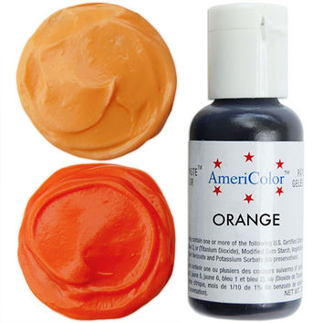 Orange Gel Paste Food Color