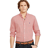 Polo Ralph Lauren Checked Poplin Shirt - Red Gingham