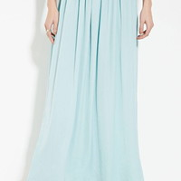 Contemporary Sheeny Maxi Skirt | Forever 21 - 2000185629