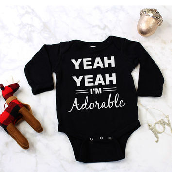 Adorable Sassy Baby Onesuit