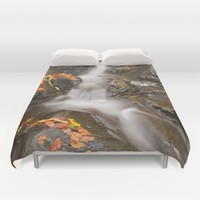 Glen Artney Stream Duvet Cover by Nicolas Raymond | Society6
