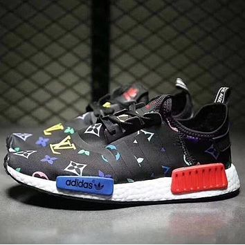 Adidas x LV NMD Fashion Running Sneakers Sport Shoes F
