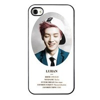 KPOP EXO MEMBER XOXO IPHONE4 CASE (LUHAN)