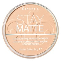 Rimmel Stay Matte Pressed Powder, Transparent 001, .49 oz (14 g) - Walmart.com