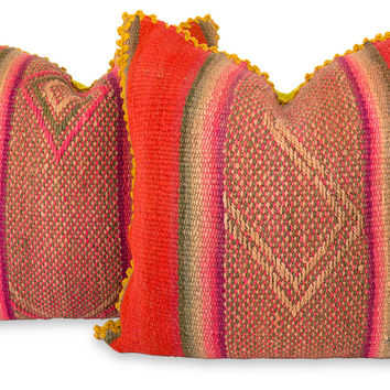 Peruvian Pillow Pair- VIII