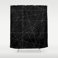 Constellations Shower Curtain by Dood_L