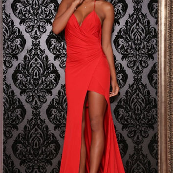 Pearl gown (red)