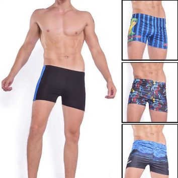 DCCK7N3 New Arrival Swimwear Men Breathable Men's Swimsuits Swim Trunks Boxer Briefs Swim Suits Maillot Beach Shorts