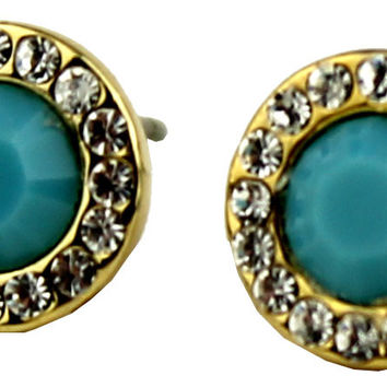 The Alexis Earring in Turquoise  by Fornash