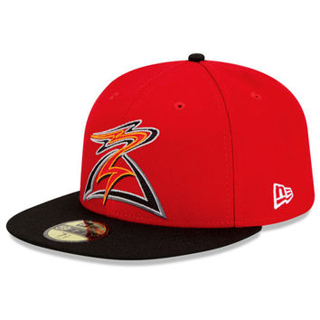 Salem-Keizer Volcanoes Authentic Road Fitted Cap - MLB.com Shop