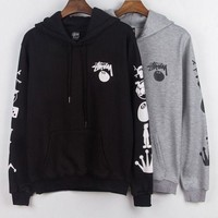 Stussy Fashion Hooded Top Pullover Sweater