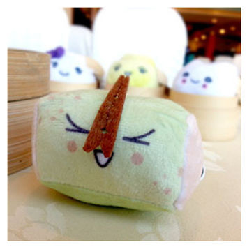 Stinky Tofu Mini Plush Keychain