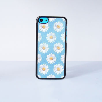 Cute Daisy  Plastic Case Cover for Apple iPhone 5C 6 Plus 6 5S 5 4 4s