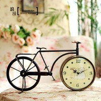 Old bicycle bike clock by covettc on Etsy