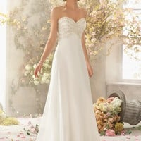 Voyage by Mori Lee 6776 Chiffon Wedding Dress