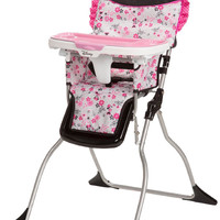 Disney Simple Fold Plus High Chair (Garden Delight (Minnie) HC218CZR