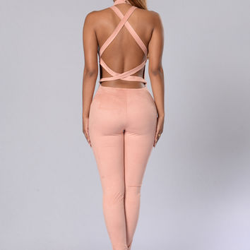 Intuition Jumpsuit - Ash Rose