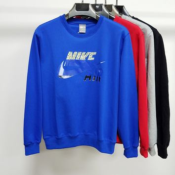 Nike new fashion long sleeve suit for sale sky blue black red blue