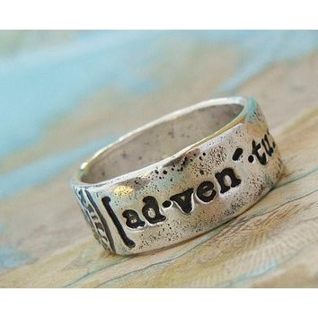 Adventure Sterling Silver Ring