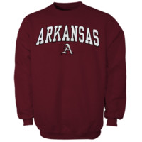 Arkansas Razorbacks Cardinal Mascot One Sweatshirt