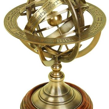Worldly Globe Armillary - Table Accents -  Home Accents -  Home Decor | HomeDecorators.com