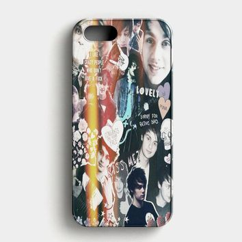Michael Clifford 5 Seconds Of Summer Funny iPhone SE Case