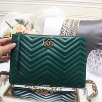 GUCCI WOMEN LEATHER HANGBAG