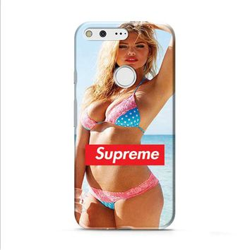 Kate Upton supreme Google Pixel XL 2 Case