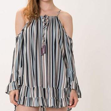 Striped Tunic Top