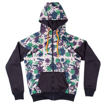 Glo Camo Zip Up Hoodie (Green Camo) – Glo Gang Worldwide