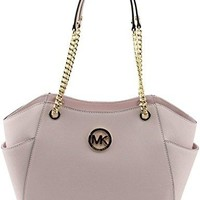 Michael Kors Jet Set Travel Large Chain Shoulder Tote Handbag mk