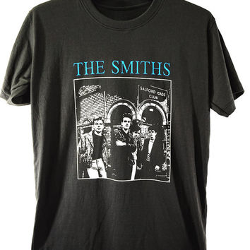 48c078fa6fbe THE SMITHS tour t-shirt, Alternative Rock, Morrissey,English Roc. Bands and  ...