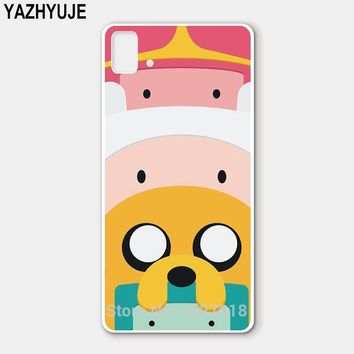 YAZHYUJE New Arrival Soft TPU Silicone Case for BQ Aquaris E5 M5.5 U2 lite M5 X5 plus Cover adventure time 1 Cell Phone Case